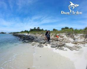 Beach clean, Koh Rin, www.onebrownplanet.com, beach clean, Thailand, plastic pollution, Dive Tribe