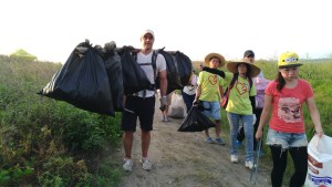 one brown planet, beach clean, plastic pollution, Thailand