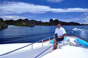 one brown planet, major wager, western papua, sailing