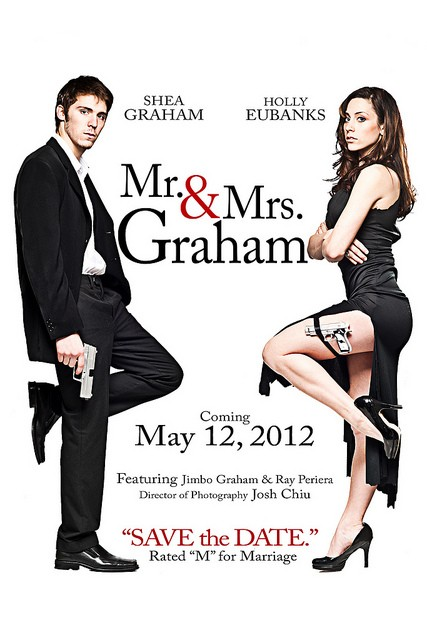Mr Mrs Smith Save The Date