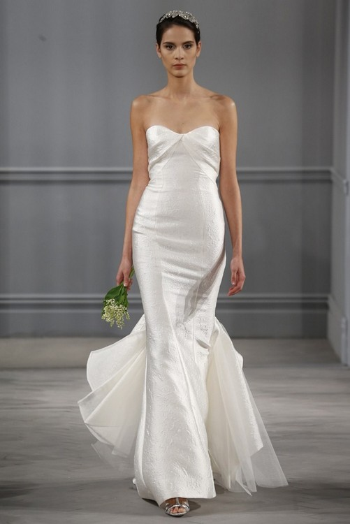 Monique Lhuillier Wedding Gown Spring 2014 Collection