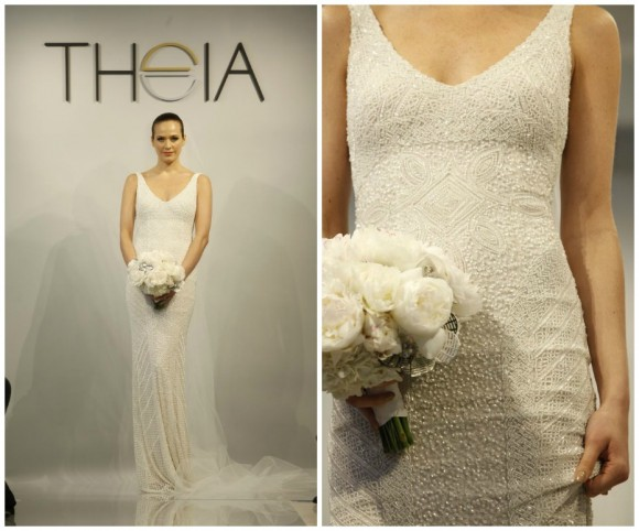 Theia White Bridal Collection 2014