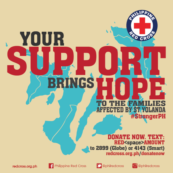 Red Cross Help Yolanda Victims