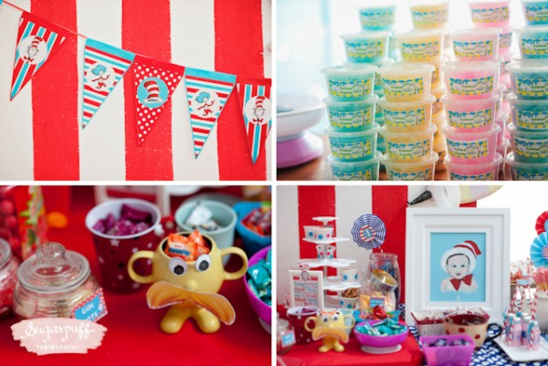 Migo's Dr. Seuss kids birthday party by Sugarpuff Photography - black and white edited-52
