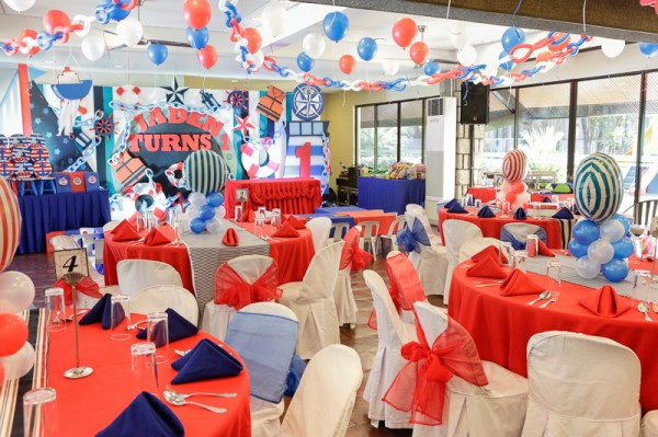 Nautical Themed Birthday Party - 00