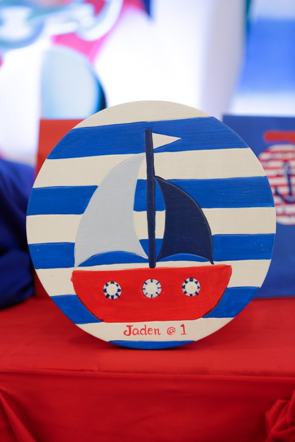 Nautical Themed Birthday Party - 11