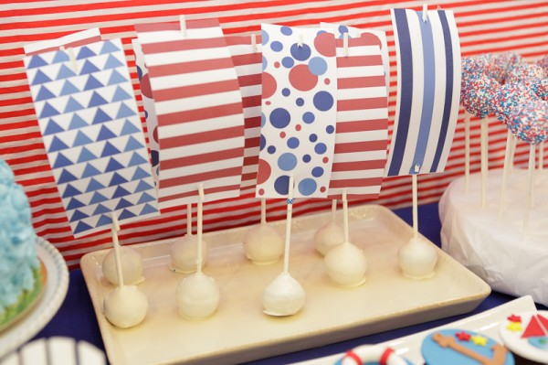 Nautical Themed Birthday Party - 16