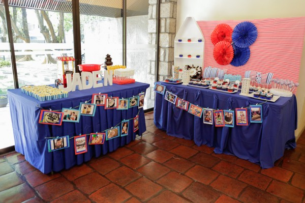 Nautical Themed Birthday Party - 19