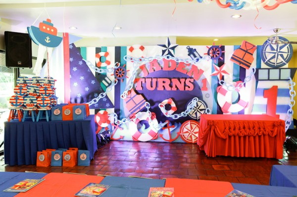 Nautical Themed Birthday Party