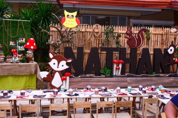 Woodland Friends Party - 01
