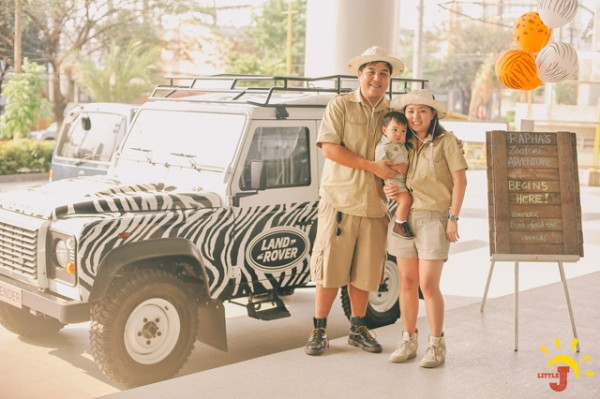 Safari Themed Birthday Party - 55