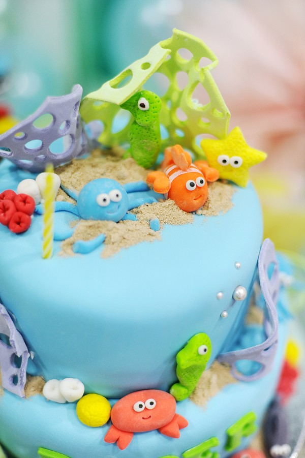 Underwater Themed Birthday Party - 25