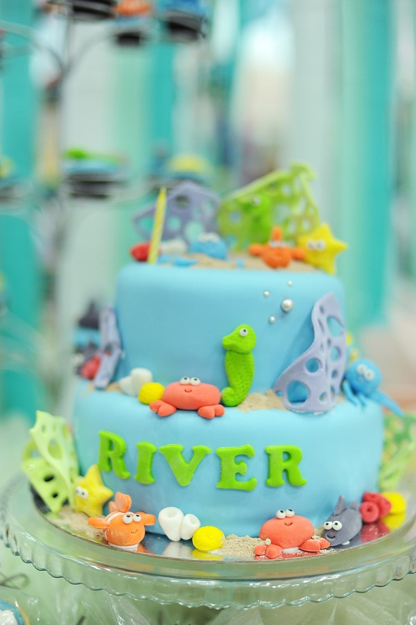 Underwater Themed Birthday Party - 29