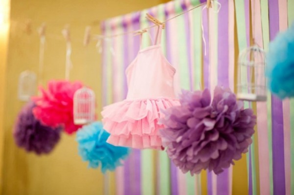 Ballerina Themed Party