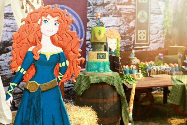Brave Themed Birthday Party