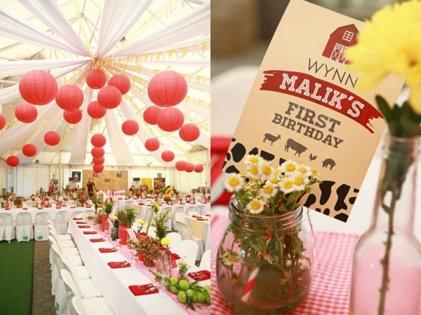 Farm Themed Birthday Party - 11