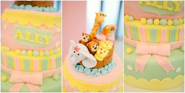 Noah's Ark Themed Cake - 2