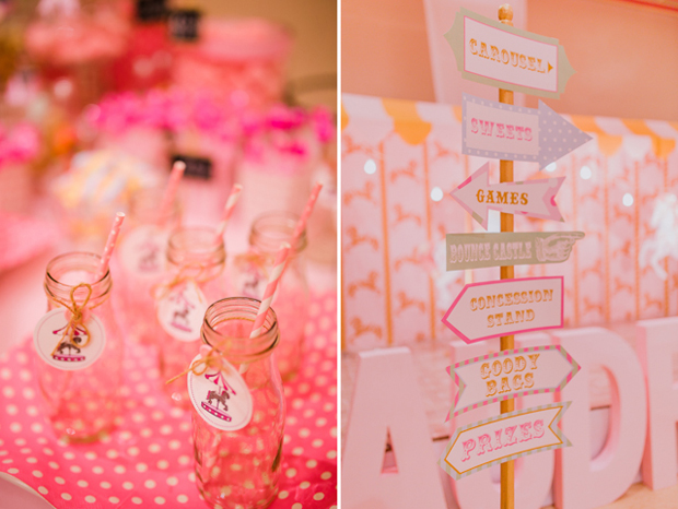 Vintage Pastel Carnival Party - 01