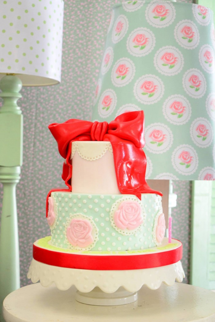 Cath Kidston Shabby Chic Birthday Party - 16