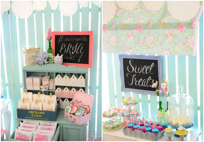 Cath Kidston Shabby Chic Birthday Party - 27