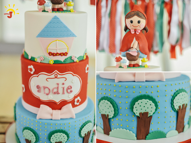 Little Red Riding Hood Birthday Party - 24