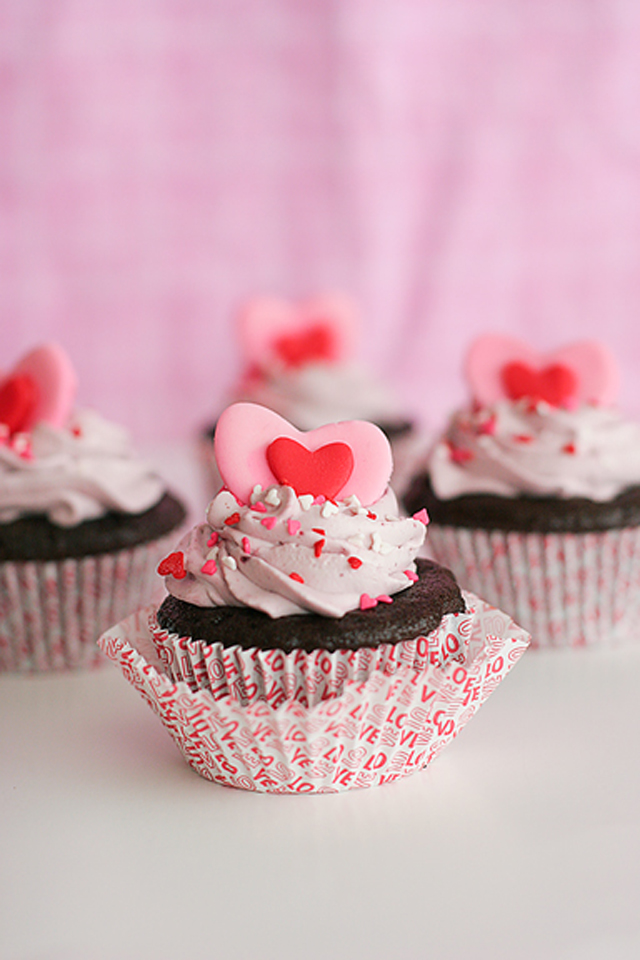 Valentine's Day Cupcake Ideas - 25
