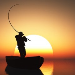 It's always a good day for fishing…for customers