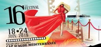 16ème édition des hérault du cinéma et de la télévision du Cap D'Agde, voici le programme complet et la liste impressionnante des invités