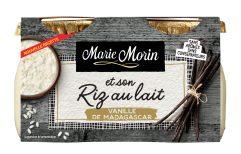 Marie Morin-Riz au lait vanille-2x140g-FACE