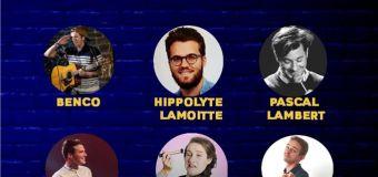 Ronan Queinec et Paul Minereau en interview pour le festival Escale d'humour à Royan