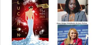 Le festival de Luchon Numérique qui se tiendra du 10 au 14 Mars dévoilent ses 2 présidentes Aïssa Maïga et Rosalie Varda