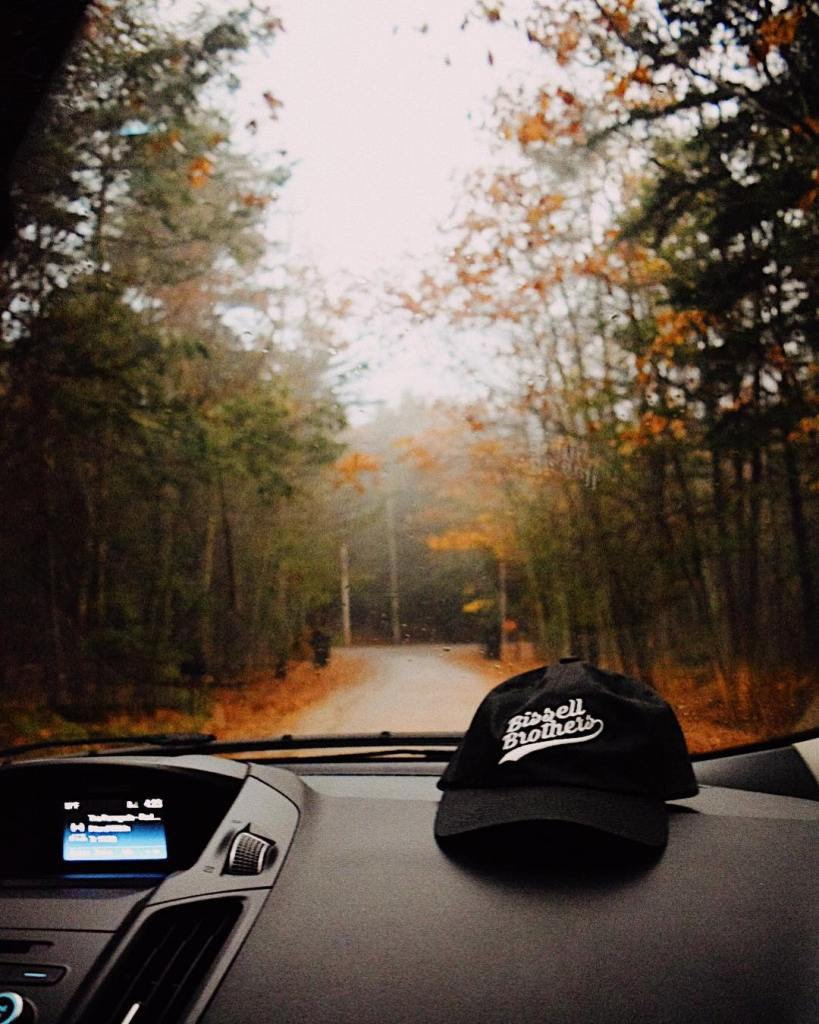 Dirt roads and fall leaves yes please