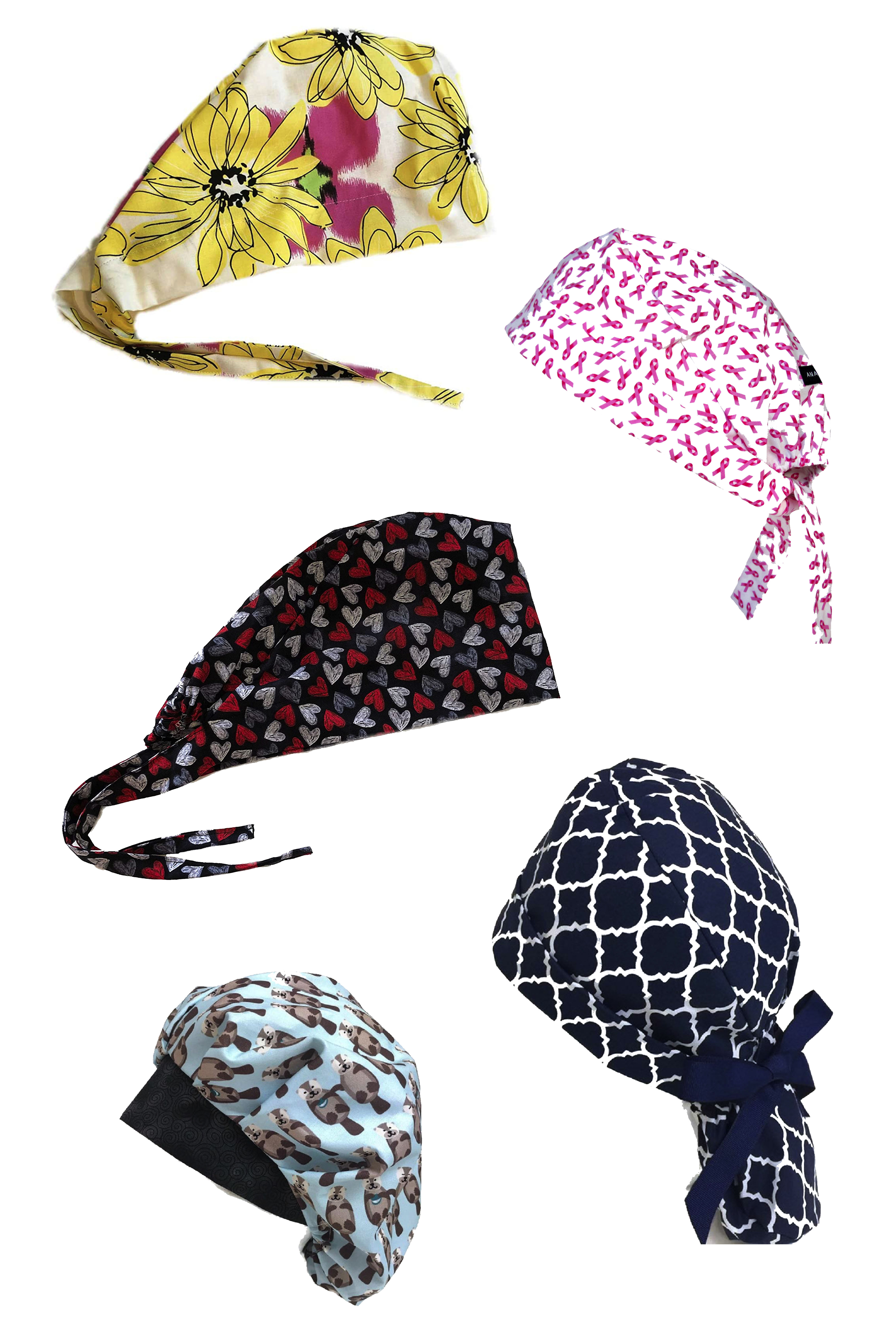 Best Scrub Cap Patterns To Diy For Health Care Workers One Crafdiy Girl