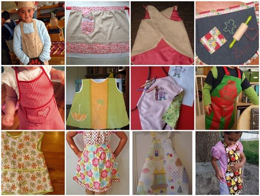 Flickr Inspiration > Make a Child's Apron
