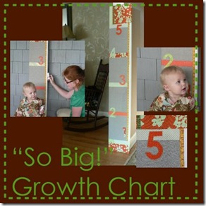 Upholstered Growth Chart Pattern