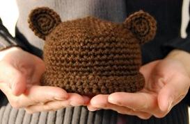 Crochet Bear Hat