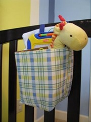 Crib-side Toy Caddy