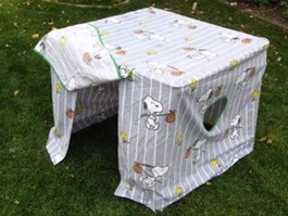 Card Table Fort