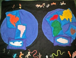 World Map for Toddlers