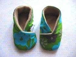 Baby Kimono Bootie Pattern