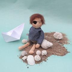 Pirate Doll Giveaway at Fröken Skicklig