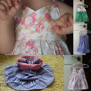 Toddler Top and Dress Pattern