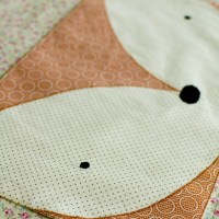 Fox and Panda Placemats: Free Pattern