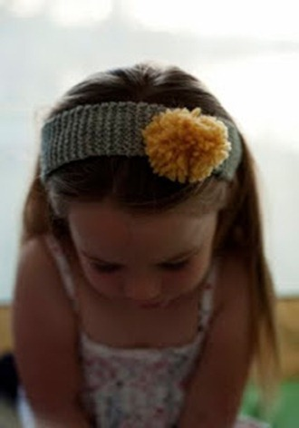 headband knitting pattern from rust and sunshine