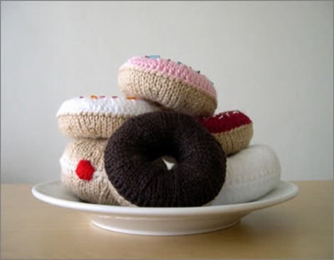 knitted doughnuts pattern i like lemons