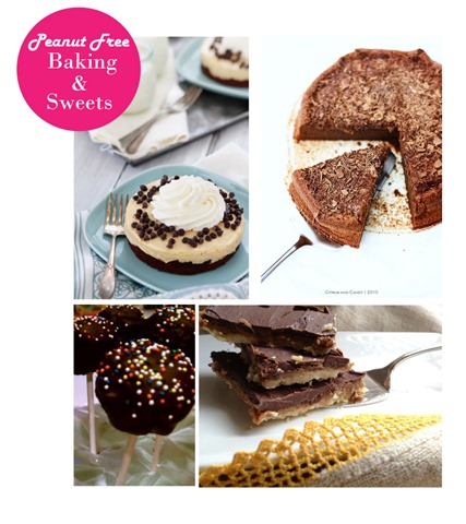 Peanut-Free Baking and Sweets