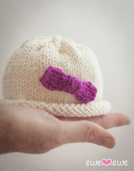 preemie baby hat knitting pattern ewe ewe