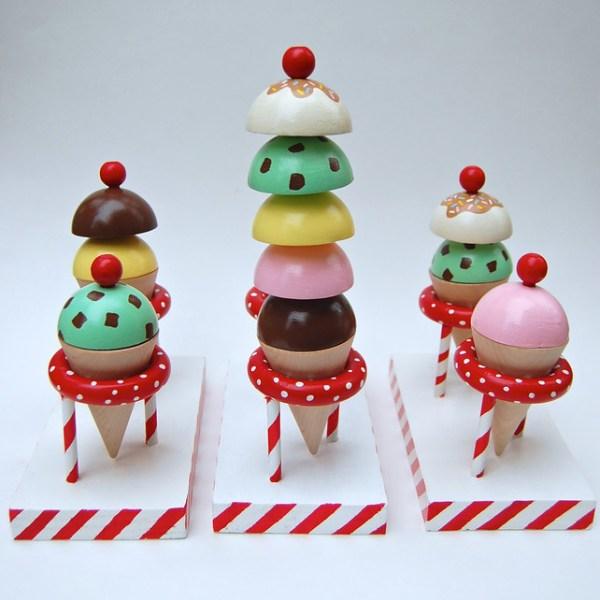 Handmade Seller Spotlight: Wooden Bakeshop and Ice Cream Parlor from Ikat Bag
