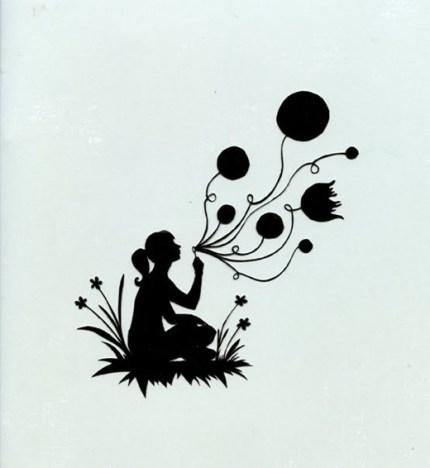 balloons papercut