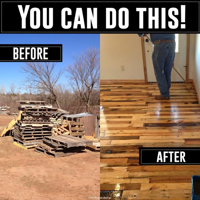 Floors Made Out Pallets